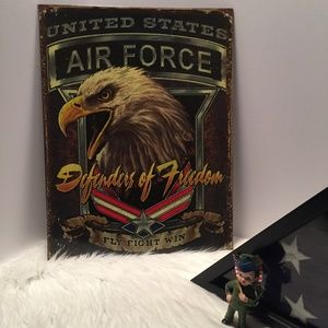 Open Roads/Hobby Lobby - US Air Force Wall Hanging